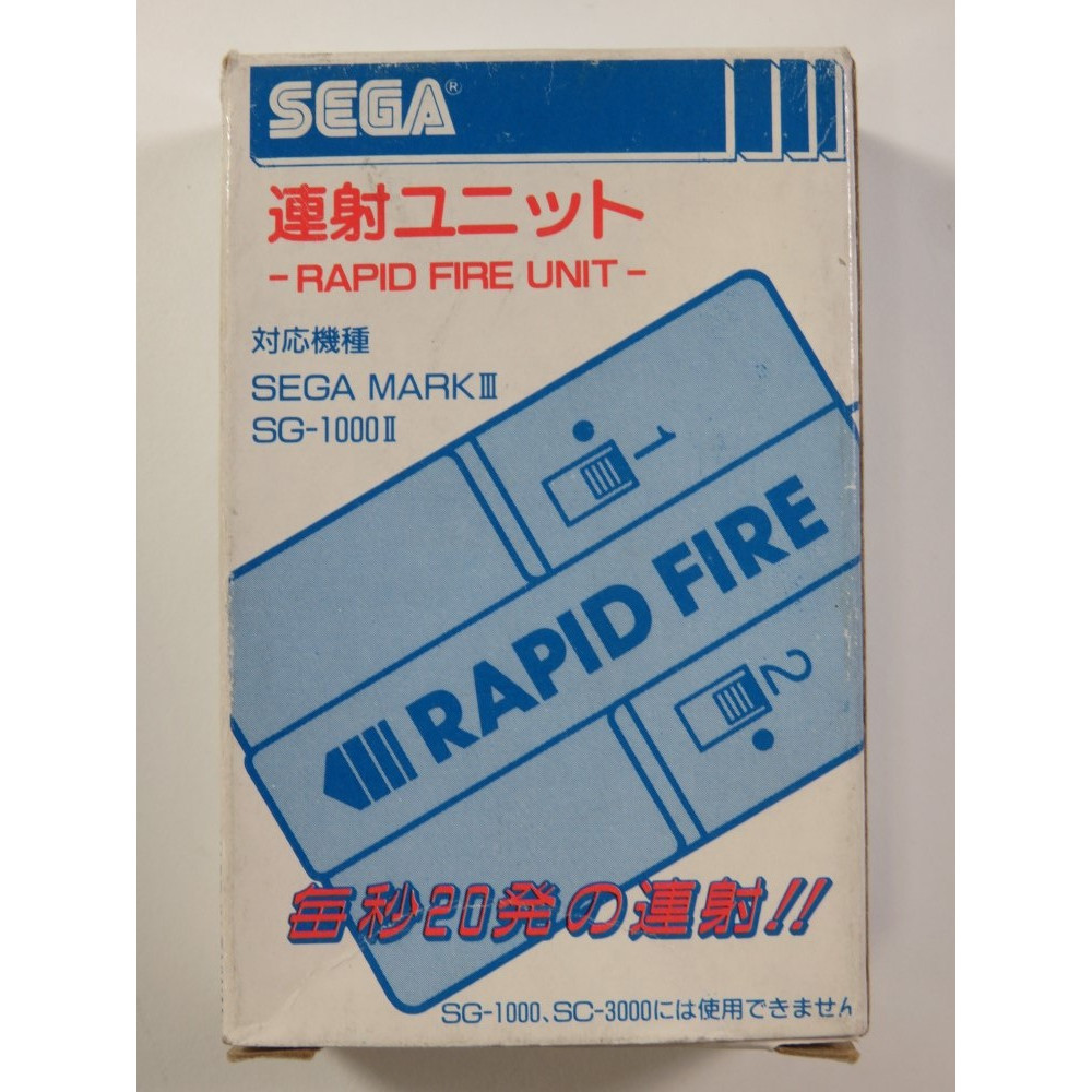 RAPID FIRE SG-1000II/SEGA MARK III JPN (BOXED - GOOD CONDITION)