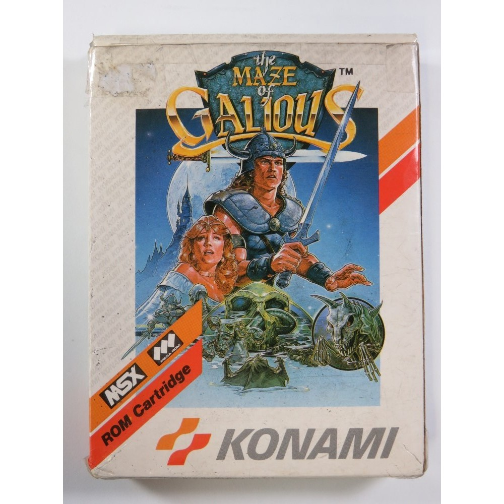THE MAZE OF GALIOUS MSX EURO (COMPLETE - BOX DAMAGED)