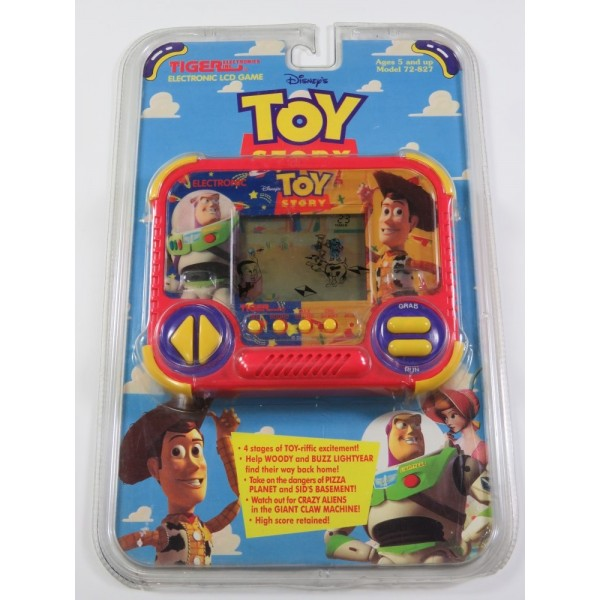 LCD GAME TIGER TOY STORY (NEUF - BRAND NEW)