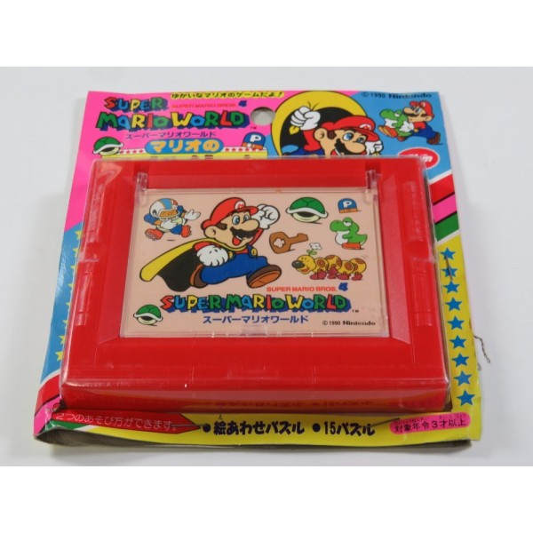 SUPER MARIO WORLD JAM PUZZLE / JIGSAW 02 NINTENDO SFC FAMICOM 1990 JAPAN (NEUF - BRAND NEW)