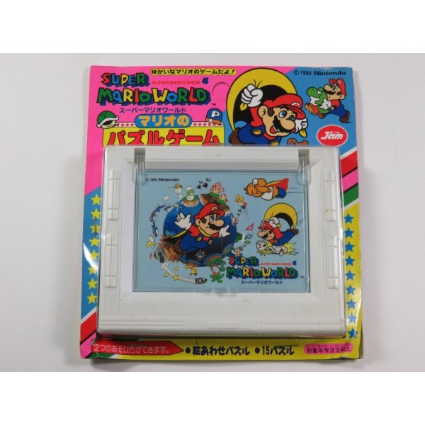 SUPER MARIO WORLD JAM PUZZLE JIGSAW 01 NINTENDO SFC FAMICOM 1990 JAPAN (NEUF - BRAND NEW)