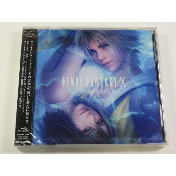 CD FINAL FANTASY X HD RE-MASTERED ORIGINAL SOUNDTRACK ( BLU-RAY) JPN NEW