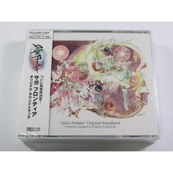 CD SAGA FRONTIER ORIGINAL SOUNDTRACK ( 3CD) JPN NEW