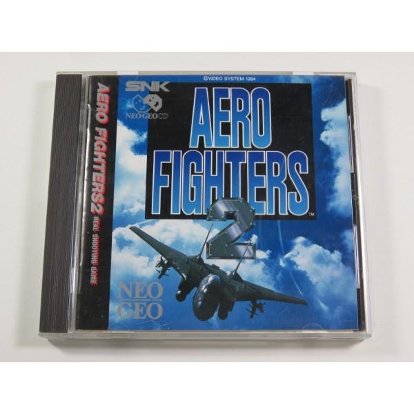 AERO FIGHTERS 2 NEO-GEO CD US (IMPORT FR AVEC NOTICE) - (COMPLETE - GOOD CONDITION)