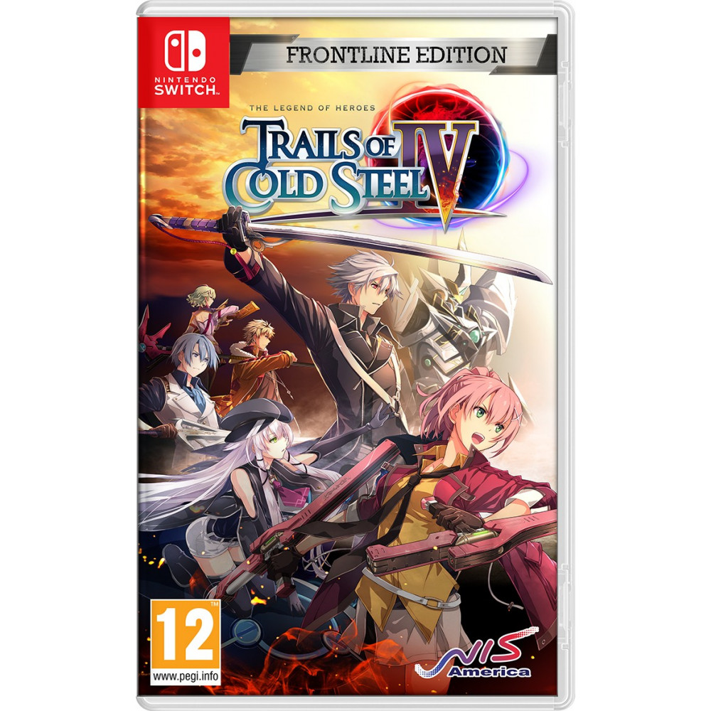 THE LEGEND OF HEROES TRAILS OF COLD STEEL IV SWITCH EURO (JEU EN ANGLAIS) NEW