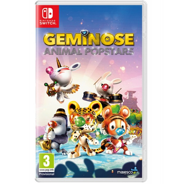Geminose Animal Popstars Nintendo SWITCH FR Précommande