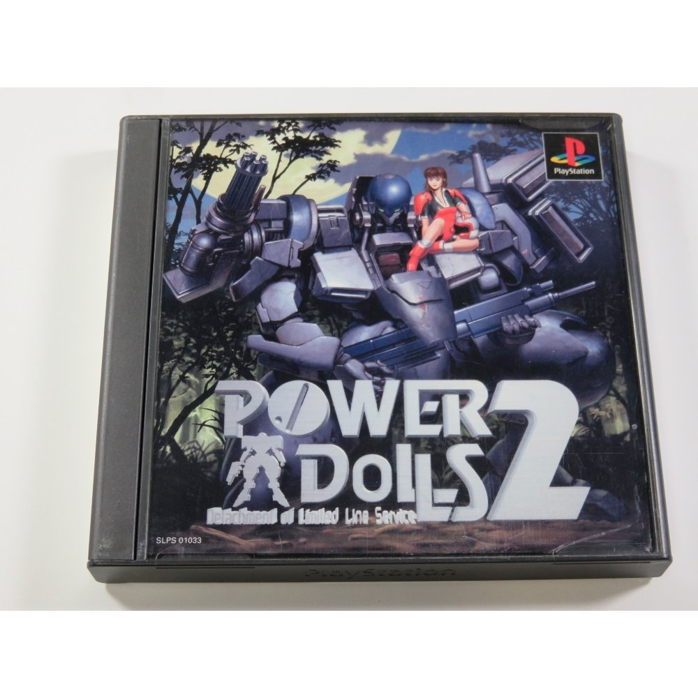 POWER DOLLS 2 PLAYSTATION (PS1) NTSC-JPN (COMPLETE WITH SPIN CARD - GOOD CONDITION)