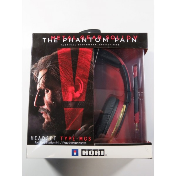 CASQUE METAL GEAR SOLID V THE PHANTOM PAIN (PS4 - PS VITA) HORI (NEUF - BRAND NEW)