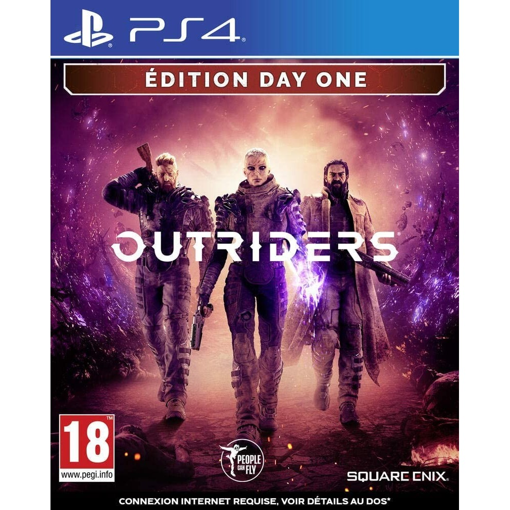 OUTRIDERS DAY ONE - PS4 FR