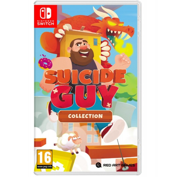 Suicide Guy Collection Nintendo SWITCH FR Preorder