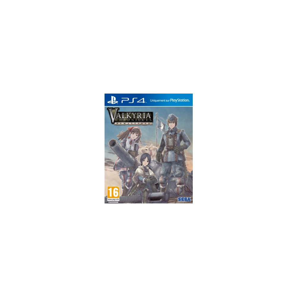 VALKYRIA CHRONICLES HD PS4 FR OCCASION