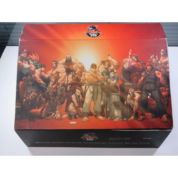 ARCADE STICK STREET FIGHTER 15TH ANNIVERSARY PLAYSTATION 2 - XBOX (BOXED) - (BOX SLIGHTLY DAMAGED - WITHOUT POSTER)