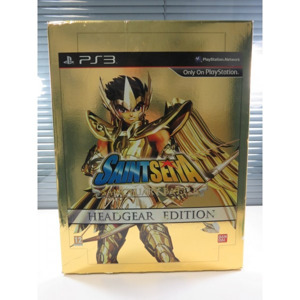 SAINT SEIYA SANCTUARY BATTLE HEADGEAR EDITION PLAYSTATION 3 (PS3) EURO (SANS JEU-WITHOUT GAME) (GOOD CONDITION OVERALL)