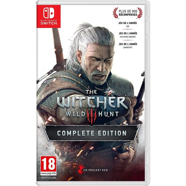 The Witcher 3 : Wild Hunt - Complete Light Edition - SWITCH FR Preorder