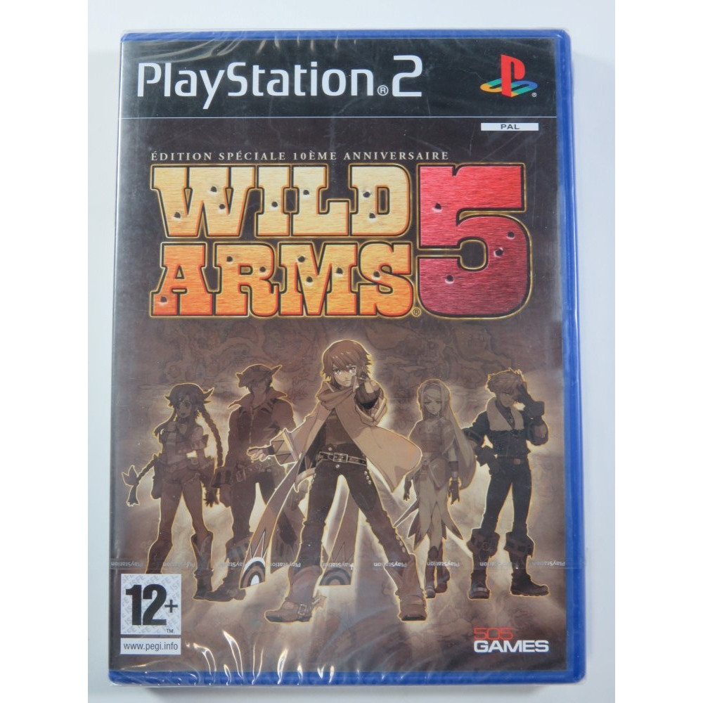 WILD ARMS 5 PLAYSTATION 2 (PS2) PAL-FR (NEUF - BRAND NEW)