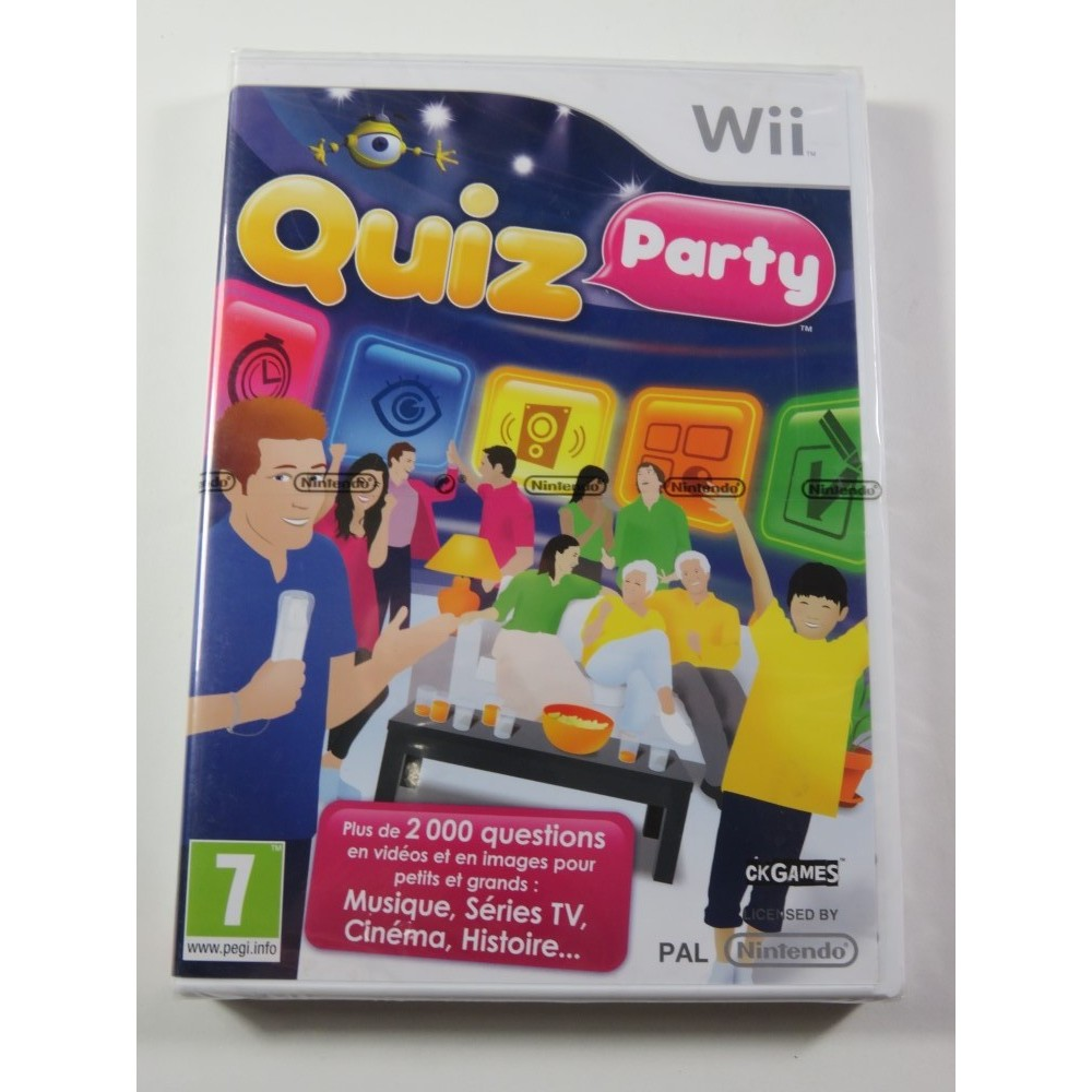QUIZ PARTY WII PAL-FR NEW