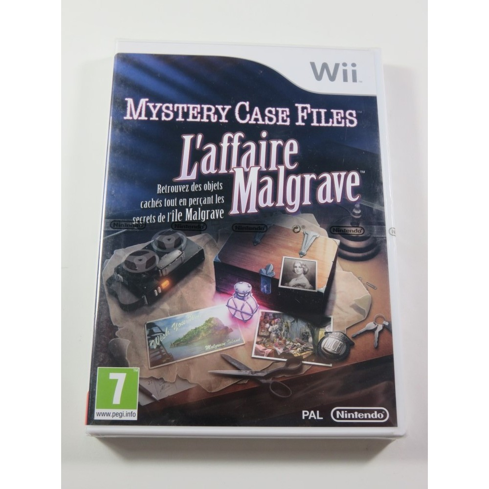 MYSTERY CASE FILES - L AFFAIRE MALGRAVE WII PAL-FR NEW