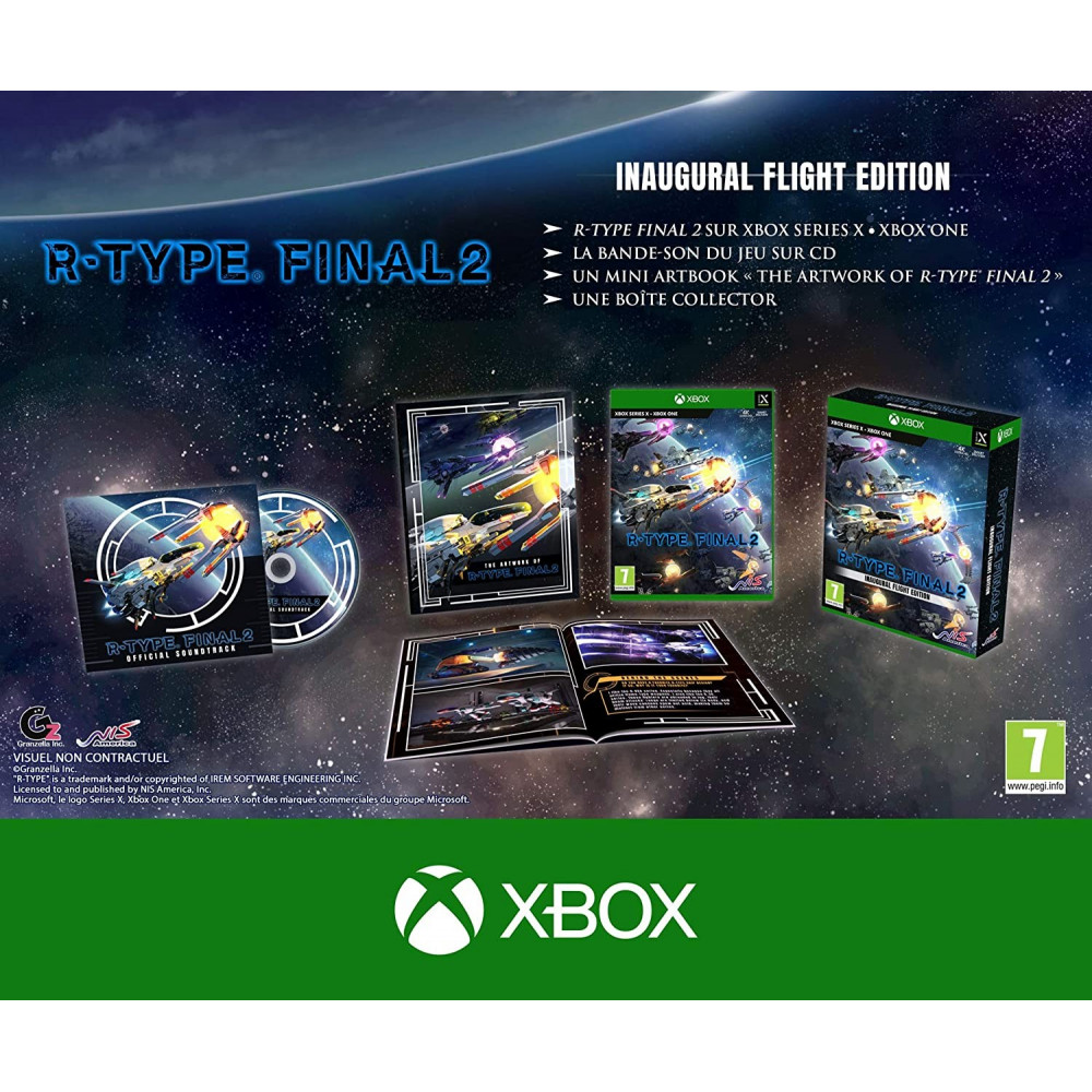 R-TYPE FINAL 2 INAUGURAL FLIGHT EDITION XBOX ONE/SERIES X EURO NEW