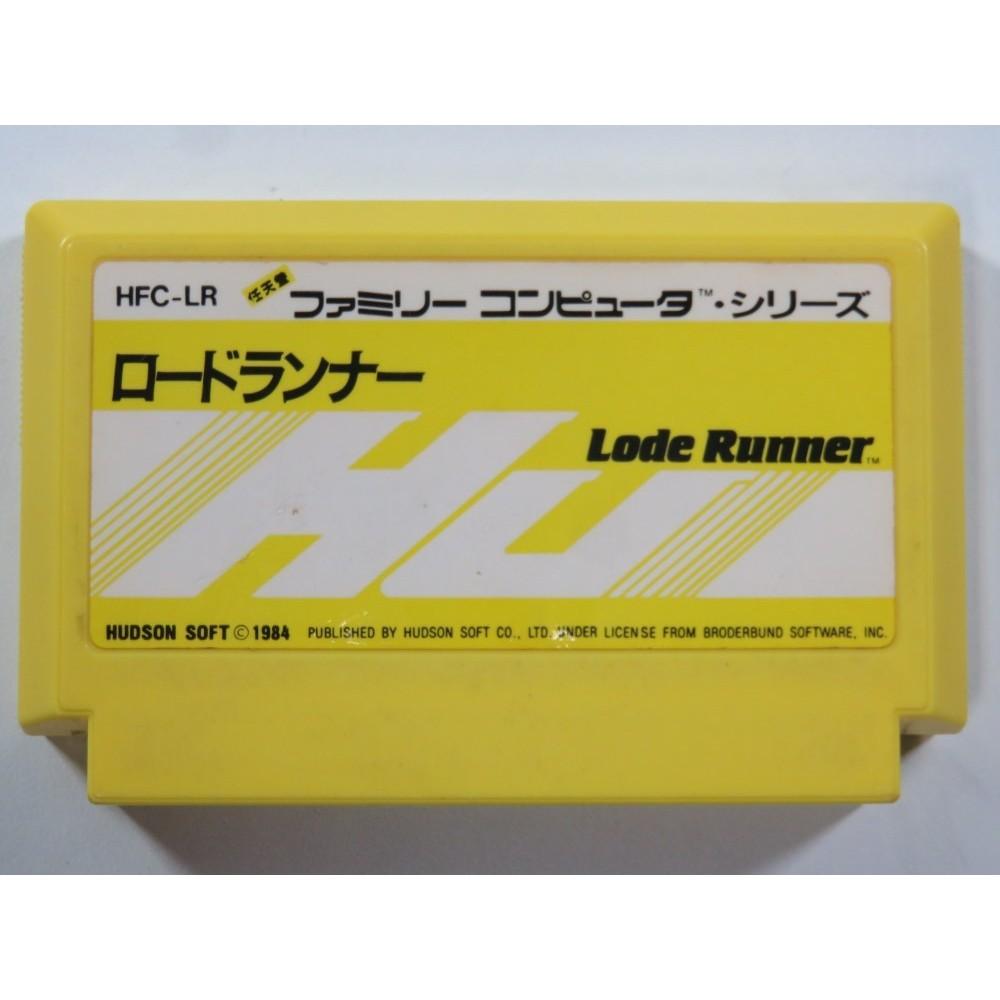 LODE RUNNER FAMICOM (FC) NTSC-JPN (CARTRIDGE ONLY)