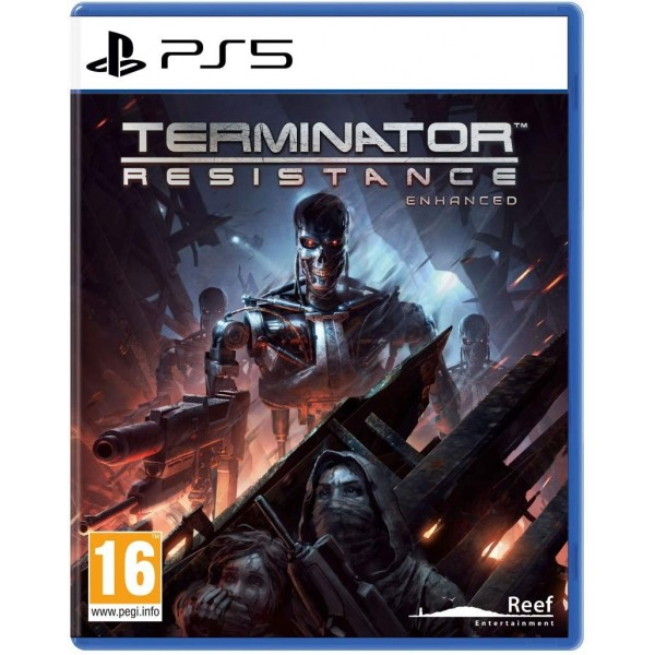 TERMINATOR RESISTANCE ENHANCED COLLECTOR PS5 FR NEW