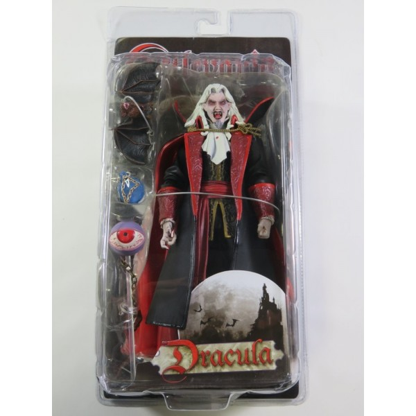 CASTLEVANIA ACTION FIGURE DRACULA (OPEN MOUTH) PLAYER SELECT NECA NEUF - BRAND NEW (2007)