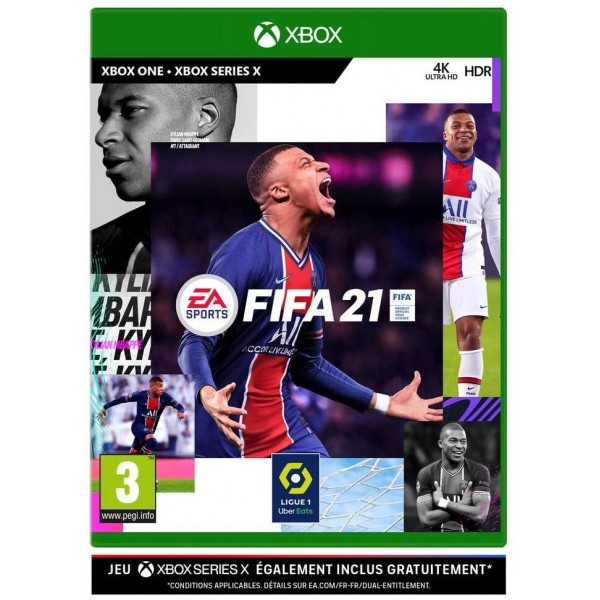 FIFA 21 XBOX SERIES X UK OCCASION