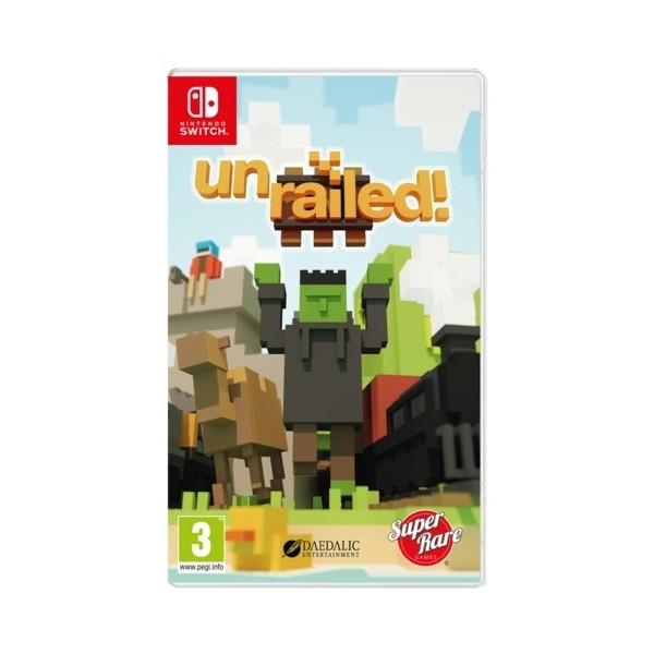 UNRAILED! SWITCH UK NEW (SUPER RARE GAMES)
