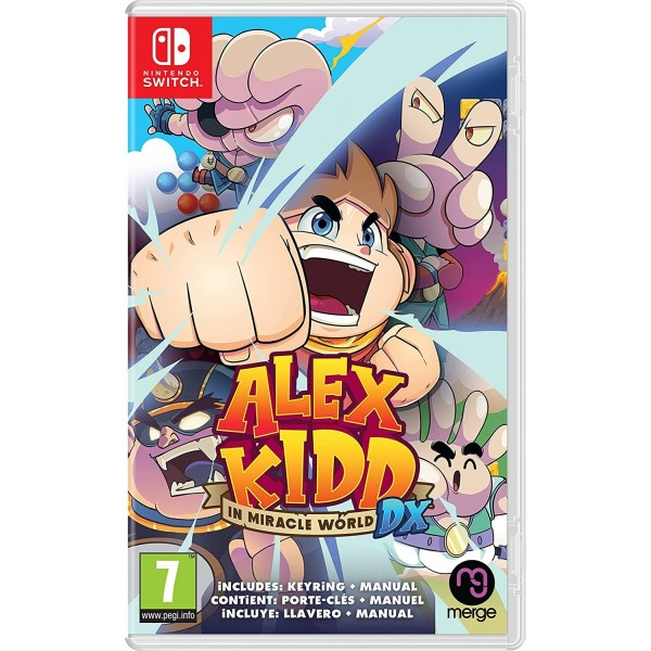 Alex Kidd in Miracle World DX SWITCH - FR Preorder