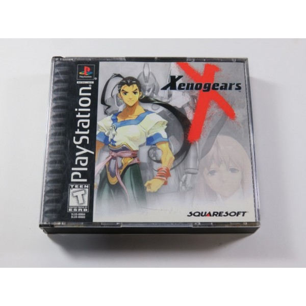XENOGEARS SONY PLAYSTATION 1 (PS1) NTSC-USA (COMPLET - GOOD CONDITION)