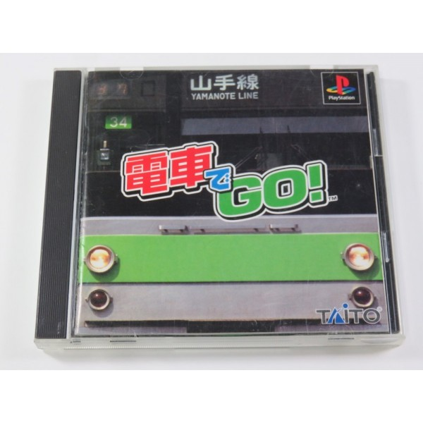 DENSYA DE GO PLAYSTATION (PS1 ) NTSC-JPN (COMPLETE - GOOD CONDITION OVERALL)