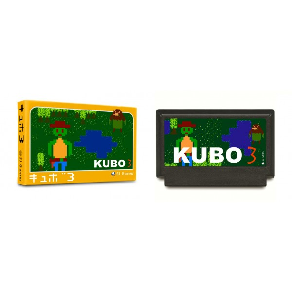 KUBO 3 NINTENDO FAMICOM JAPAN BRAND NEW SEALED SJ GAMES