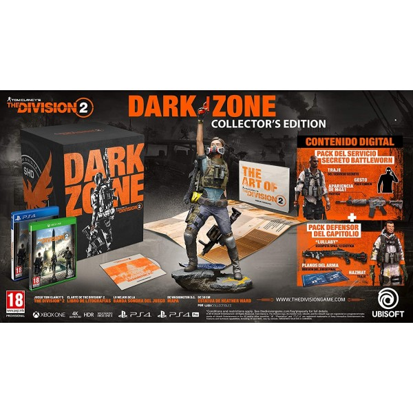 THE DIVISION 2 COLLECTOR DARK ZONE EDITION PS4 FR OCCASION