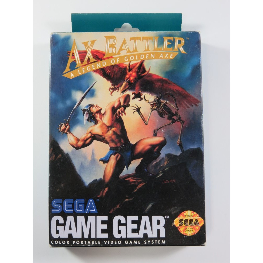 AX BATTLER A LEGEND OF GOLDEN AXE SEGA GAME GEAR USA (COMPLETE - GREAT CONDITION)