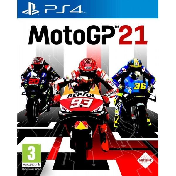 MOTO GP 21 PS4 FR OCCASION