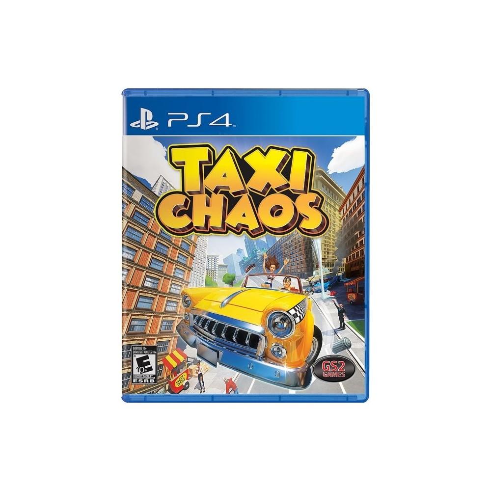 TAXI CHAOS PS4 USA NEW (JEU EN FRANCAIS)