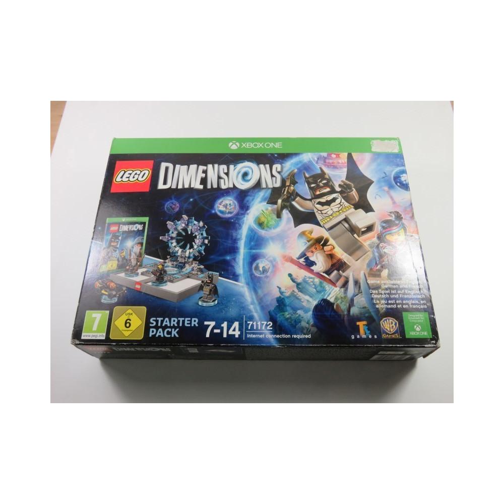 LEGO DIMENSIONS STARTER PACK XBOX ONE EURO NEW (PRIX ETAT)