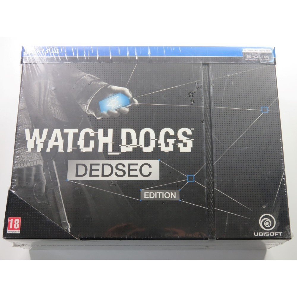 WATCHDOGS DEDSEC EDITION PLAYSTATION 4 PAL-FR (NEUF - BRAND NEW)