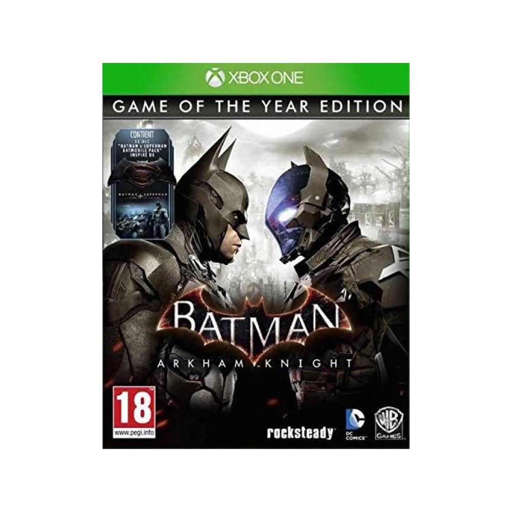 BATMAN ARKHAM KNIGHT EDITION GAME OF THE YEAR XONE FR OCCASION