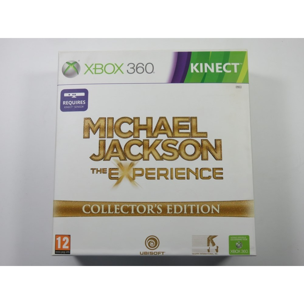 MICHAEL JACKSON THE EXPERIENCE COLLECTOR S EDITION XBOX360 PAL-EURO (COMPLETE - GOOD CONDITION)