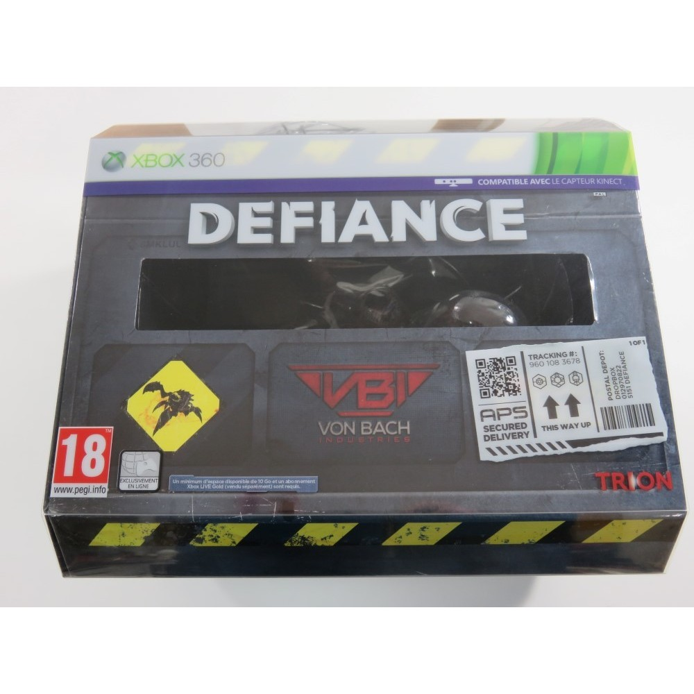 DEFIANCE COLLECTOR S EDITION XBOX 360 PAL-FR (NEUF - BRAND NEW)