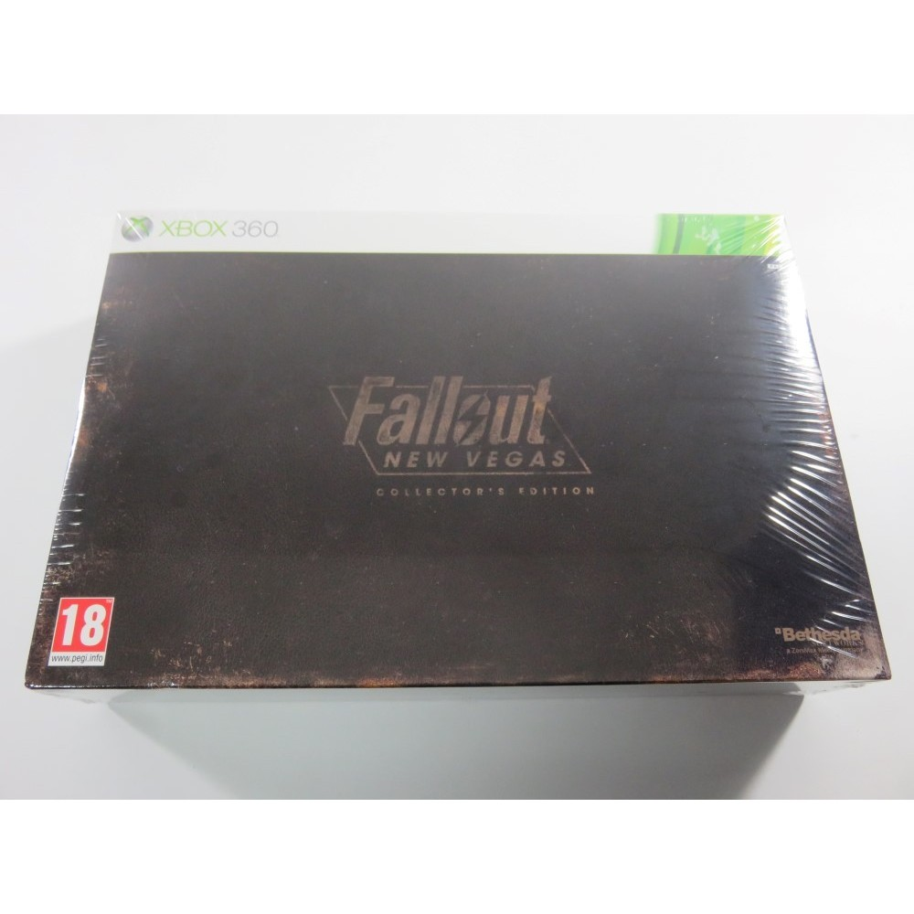 FALLOUT NEW VEGAS COLLECTOR S EDITION XBOX360 PAL-FR (NEUF - BRAND NEW)