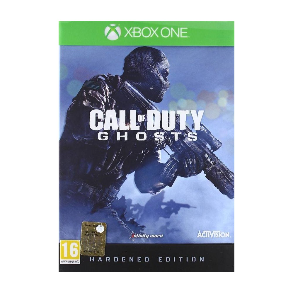 CALL OF DUTY GHOSTS HARDENED EDITION XBOX ONE FR OCCASION