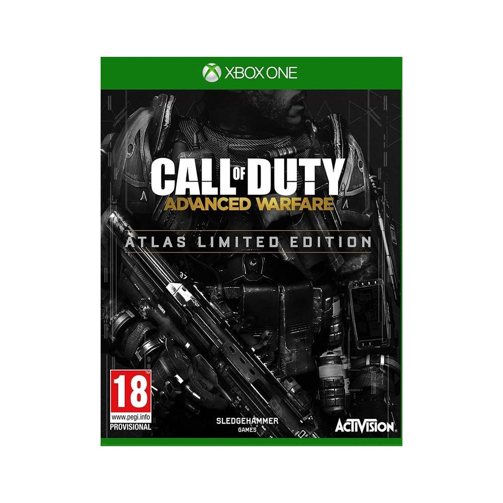 CALL OF DUTY ADVANCE WARFARE EDITION LIMITE ATLAS XBOX ONE VF