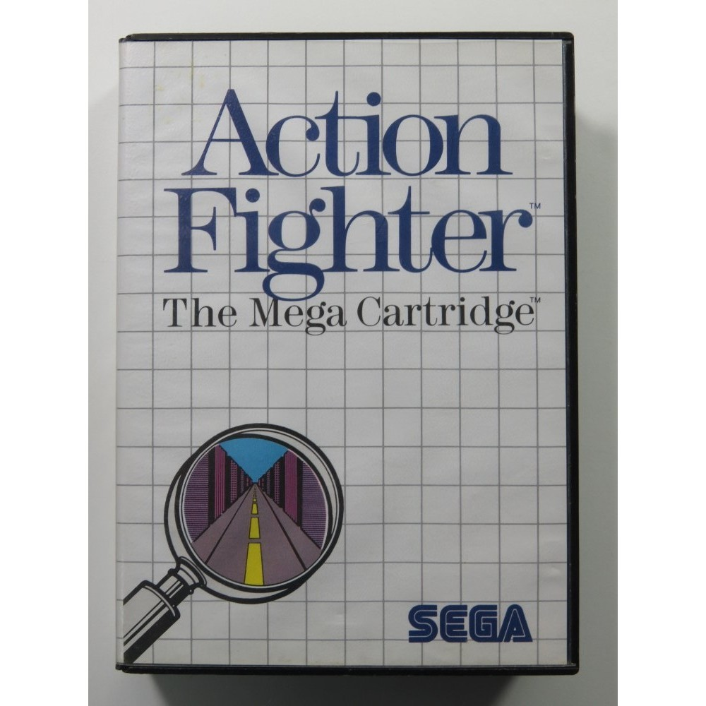 ACTION FIGHTER SEGA MASTER SYSTEM PAL-EURO (COMPLET - GOOD CONDITION)