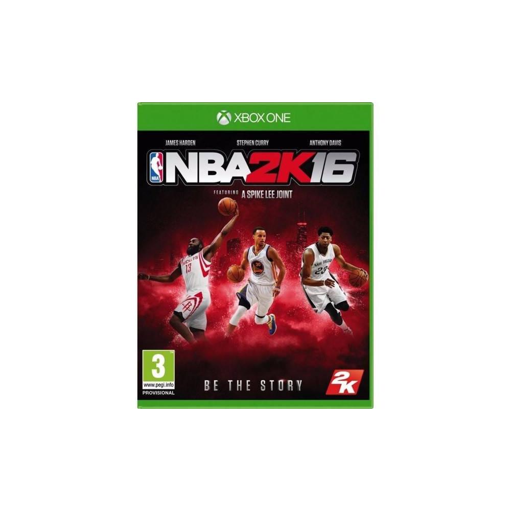NBA 2K16 XBOX ONE FR OCCASION