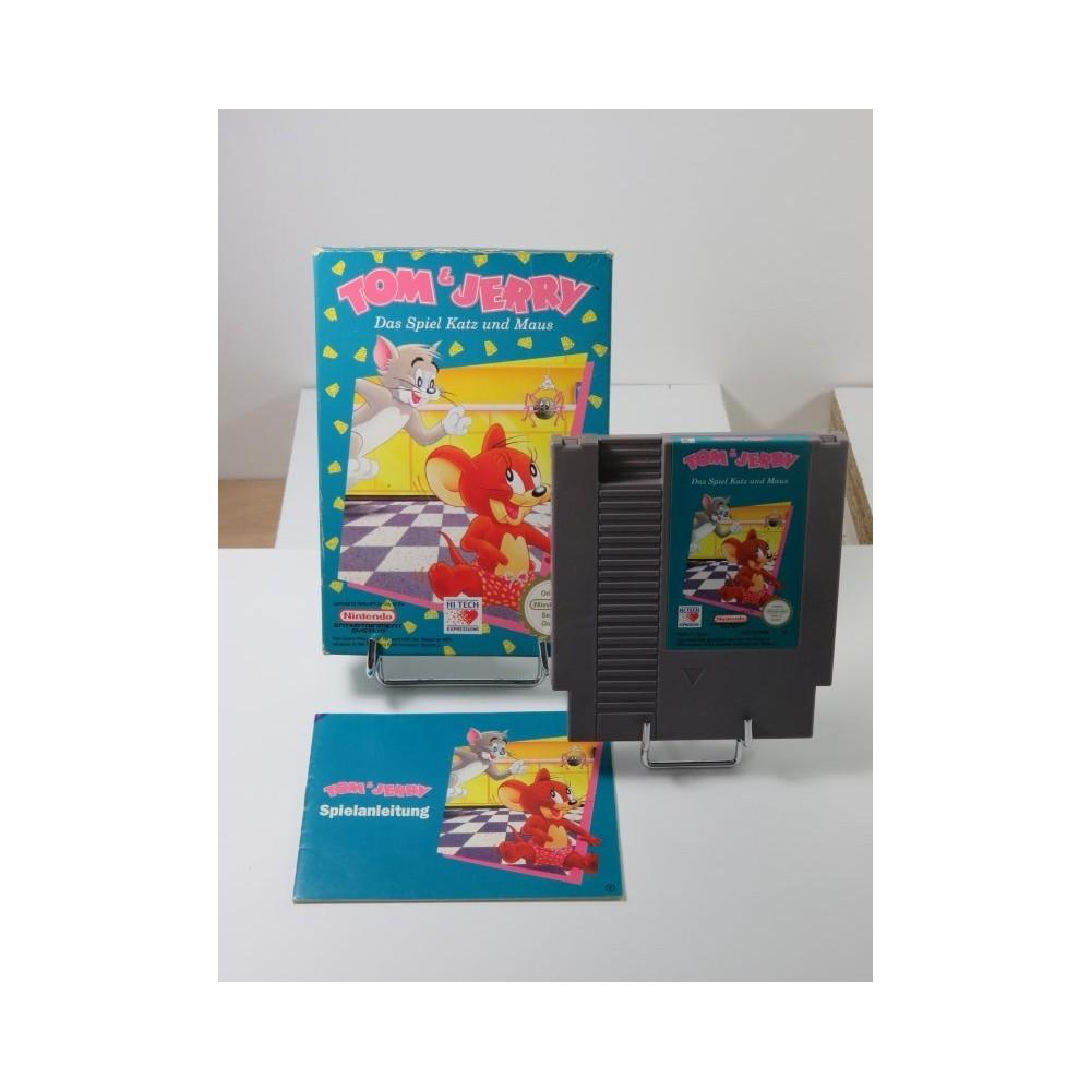 TOM & JERRY DAS SPIEL KATZ UND MAUS (NES) PAL-B-NOE (COMPLET - VERY GOOD CONDITION OVERALL)