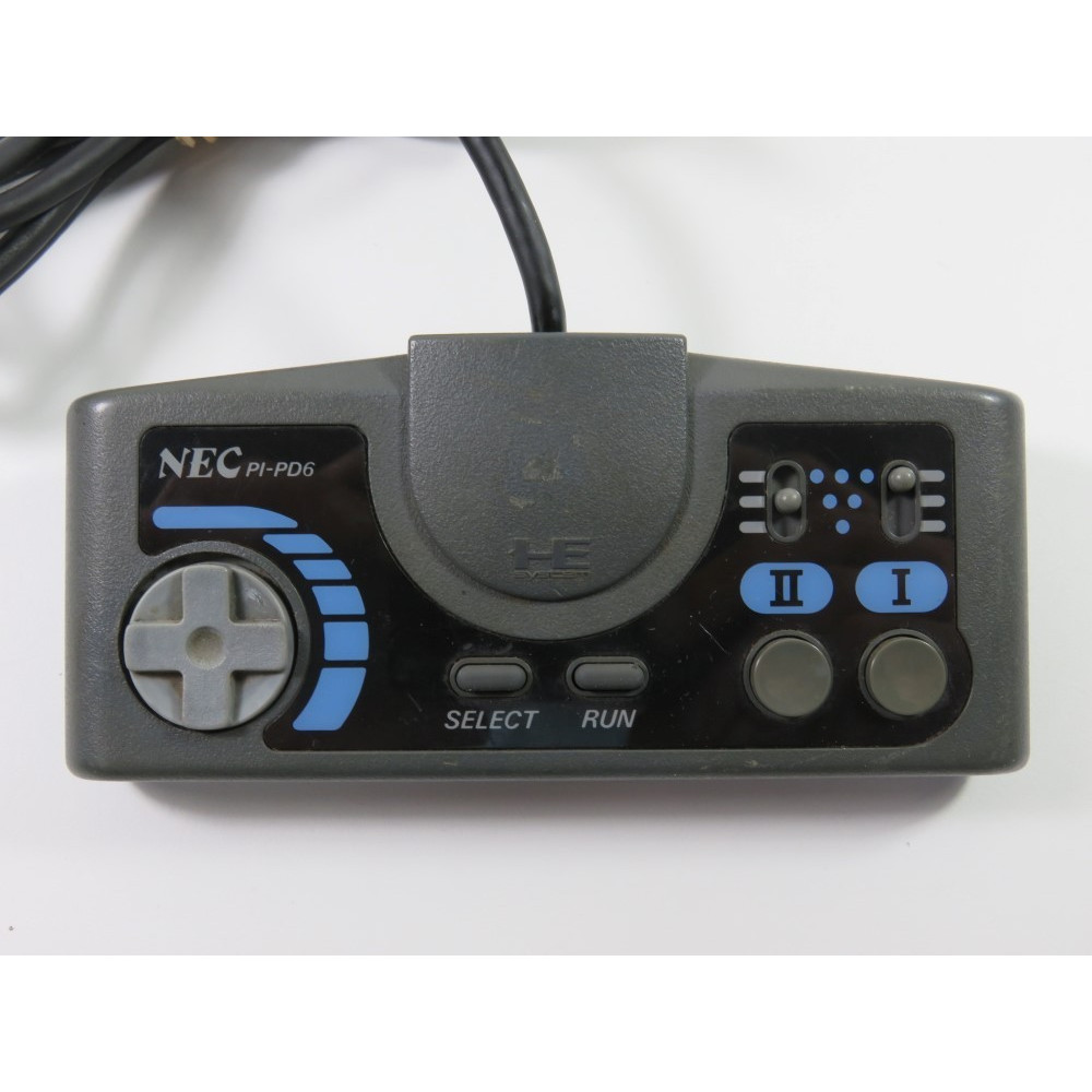 CONTROLLER NEC PC ENGINE TURBO PAD PI-PD6 JAPAN (SANS BOITE NI NOTICE - WITHOUT BOX AND MANUAL)