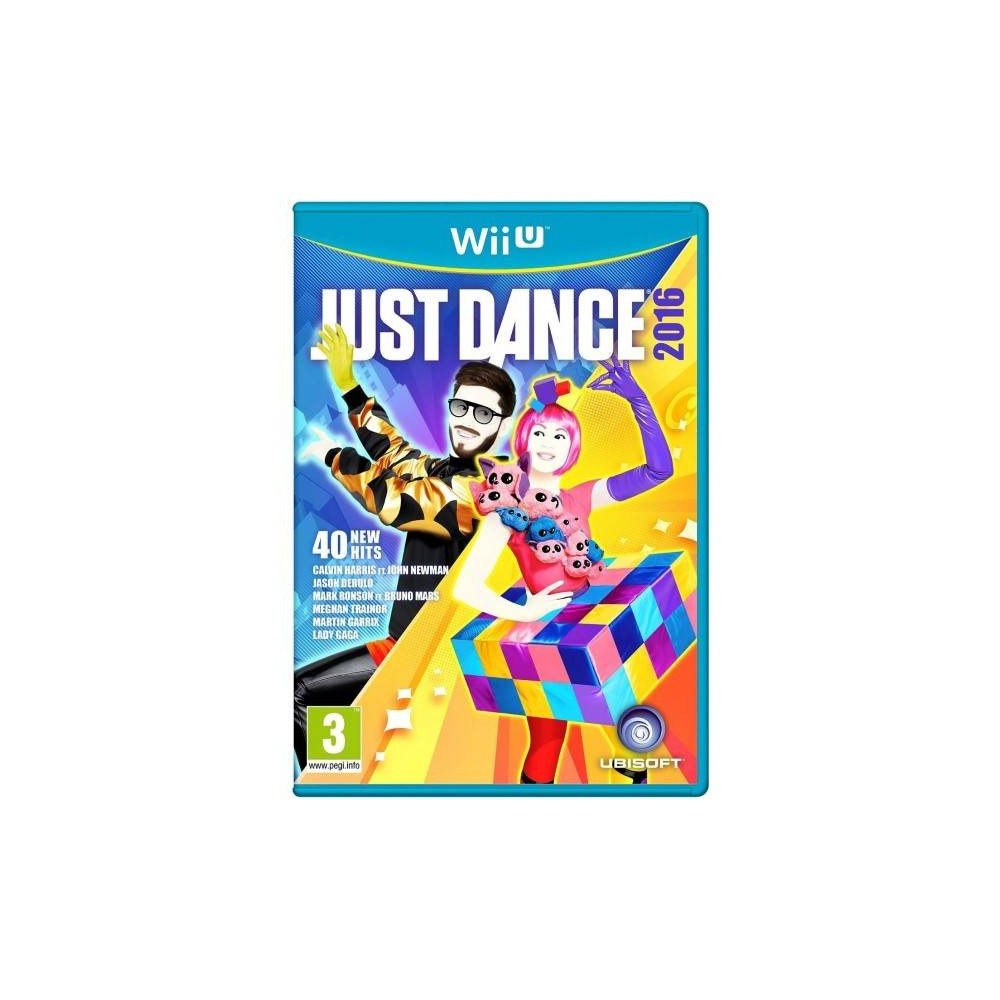 JUST DANCE 2016 WIIU PAL-EURO OCCASION