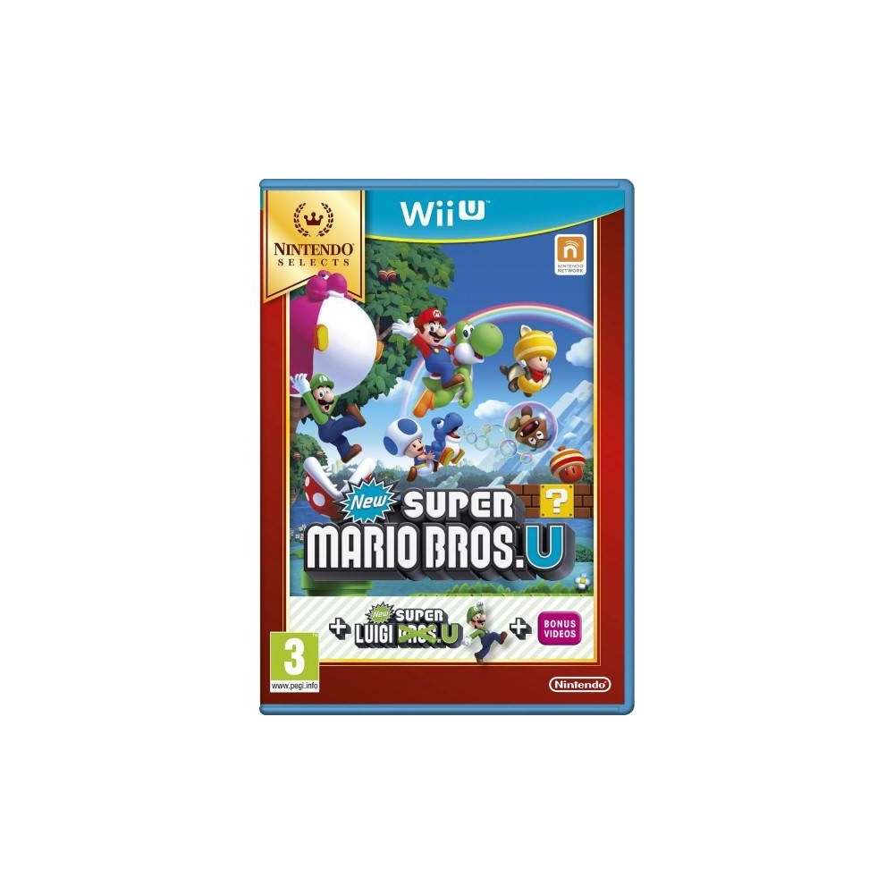NEW SUPER MARIO BROS NINTENDO SELECTS WIIU FR OCCASION