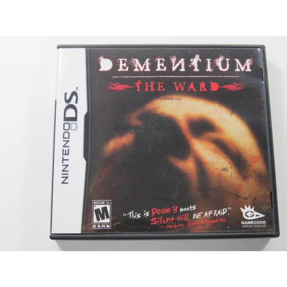 DEMENTIUM THE WARD NINTENDO DS (NDS) USA OCCASION